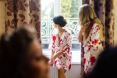 bridesmaids - getting ready