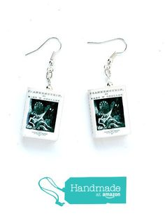Mary Shelley's Frankenstein Polymer Clay Mini Book Earrings by Book Beads Choose Your Earring Hardware from Book Beads http://www.amazon.com/dp/B016CNDNMU/ref=hnd_sw_r_pi_dp_ivhiwb1DTQSVR #handmadeatamazon