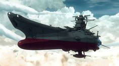 Space Battleship Yamato looks like a flying navy Ship, like it should be in water. Description from forums.robertsspaceindustries.com. I searched for this on bing.com/images