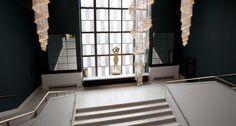 Sharon Marston - Custom Spiral Light Installation, Oslo Opera House, Norway