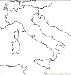 italy4 coloring page
