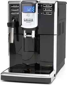 Amazon.com: Gaggia Anima Coffee and Espresso Machine, Includes Steam Wand for Manual Frothing for Lattes and Cappuccinos with Programmable Options: Kitchen & Dining Commercial Espresso Machine, Espresso Machine Reviews, Automatic Espresso Machine, Coffee And Espresso Maker, Best Espresso, Coffee Shop, Coffee Maker, Coffee Geek, Coffee Machine Price