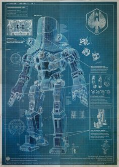 These Blueprints Expose The Innards Of Your Favorite Fictional Robots
