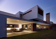 Imposing House With Volumes and a Sense of Privacy by Dahl Architects   GHG Architects