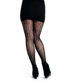 CE0503    Leopard Lace Tights    http://www.cestmoiclothing.com/tights.aspx