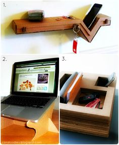 Upcycle: Clean-cut cardboard...