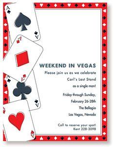 Free casino party invitations crown casino wiki