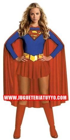 Disfraces de mujer superheroes