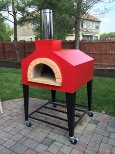 portable outdoor wood oven