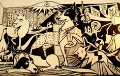 """Guernica"" - Maria Madalena pub - Sao Paulo - Brazil - http://www.psyche.com.br/Graf_Maria_Madalena"