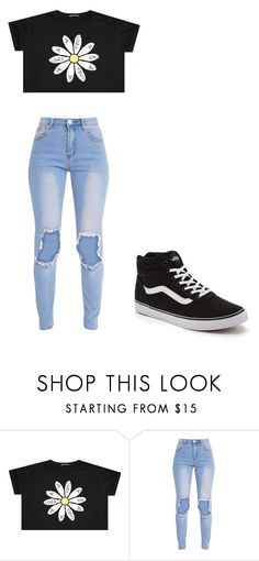 """""""Untitled #309"""" by thenerdyfairy on Polyvore featuring Vans"""