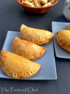 Empanada is a stuffed pastry common in Latin American countries, Spain and some parts of the far east. It can be fried, baked, grilled, cooked on a griddle.
