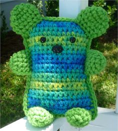 Riley Bear Amigurumi by AllAboutKendra on Etsy, $8.00