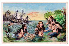 Vintage Mermaids