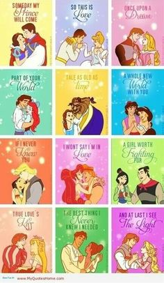 princess printables along with 33 Disney Crafts Ideas and Recipes for prepping for your trip to Disney World or Disneyland, or just wishing you were back there! Disney Pixar, Disney Amor, Disney E Dreamworks, Film Disney, Disney Couples, Disney Magic, Funny Disney, Disney Fan Art, Prince And Princess