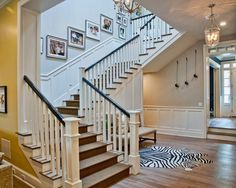 Breezy Brentwood, Traditional Staircase, Los Angeles