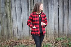 Grainline Studio | Tamarack Jacket  I love this with a flannel outer layer!! Putting on my to-make list.
