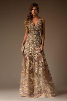 Beige A-Line Elegant for Rustic Wedding Officient Dress Elegant Dresses, Pretty Dresses, Vestidos Chiffon, Gala Dresses, Formal Gowns, Beautiful Gowns, Marie, Ball Gowns, Evening Dresses