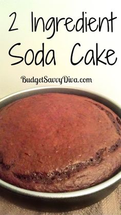 Ingredients Chocolate Cake Box Mix 1 Can of Soda – I used Diet Dr. Pepper Instructions Mix the cake mix and soda toget. Cake Mix Recipes, Dessert Recipes, Ww Desserts, Healthy Desserts, Cake Mix And Soda, 2 Ingredient Recipes, Delicious Desserts, Yummy Food, Fun Food