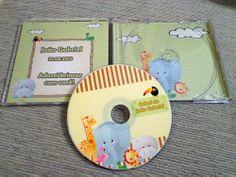 CD personalizado para lembrancinha de aniversário - Atellier Print.