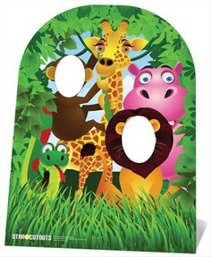 Jungle Stand In (Child Size) Cardboard Cutout. Buy Jungle Stand In Child Size standups & standees at starstills.com