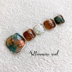 Fancy Nails Designs, Nail Designs, Feet Nails, Autumn Nails, Japanese Nails, Beaded Bracelets, Beautiful, Fingernail Designs, Art