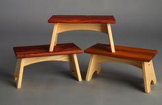 Step Stool Chair Plans - New Furniture Teak Shower Stool, Wood Stool, Stool Chair, High Stool, Modern Stools, Living Furniture, Furniture Ideas, Woodworking Furniture, Woodworking Projects