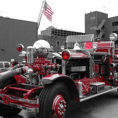 Chicago Fire Muse Ahrens Fox  Beautiful Exhibit of an A-Fox