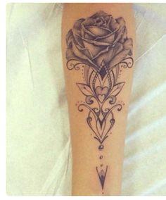 Tattoo rose