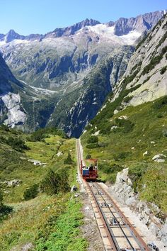 Gelmerbahn, The Steepest Funicular In Europe