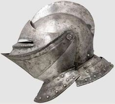 Medieval Knight Helmet | 1560 AD Knight Medieval Jousting helmet plate armor armour tournament