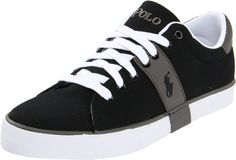 Amazon.com  Polo Ralph Lauren Men s Burwood Sneaker  Color  Polo Black Polo 0db9182fee8