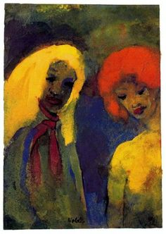 imageEmile Nolde (German~Danish 1867~1956) | He was one of the first Expressionists, a member of Die Brücke.Artist Emile NoldeFosterginger.Pinterest.ComMore Pins Like This One At FOSTERGINGER @ PINTEREST No Pin Limitsでこのようなピンがいっぱいになるピンの限界