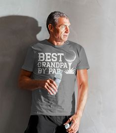 Men's Funny Best Grandpa By Par T Shirt Father's Day Gift Golf Shirt Funny Grandpa Gift Father's Gift Funny Papa Shirt Golf Shirts, Cute Shirts, Funny Shirts, Buffalo T Shirts, Elephant Shirt, Shirt Tucked In, Custom Printed Shirts, Fathers Day Shirts, Order T Shirts