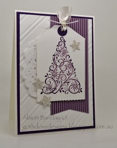 Gothdove Designs - Alison Barclay Stampin' Up! ® Australia : Card Type - Christmas