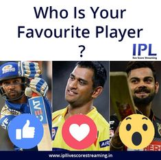 Who is your favourite player name ......