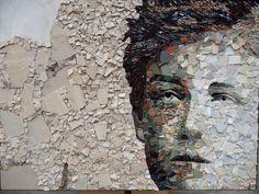 Mosaic Art, Mosaic Glass, Stained Glass, Mosaic Portrait, Grand Palais, Mosaic Designs, Art Forms, City Photo, Album