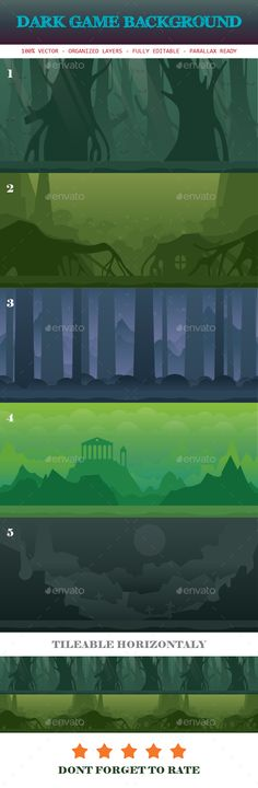 Dark Game Background Template (Backgrounds)