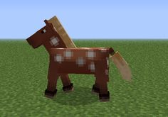 The recent Minecraft update has added in new dimensions to the game and rejuvenated many people's interest. And added horses. We have a report filed by Callum L, our Senior Junior Minecraft C… Minecraft Rp, Minecraft Ender Dragon, Minecraft Horse, Minecraft Stuff, Minecraft Ideas, Baby Horses, Cute Horses, Savanna Biome, Animal Cupcakes