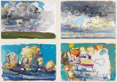 'cloud' sketchbooks: from figuration to abstraction