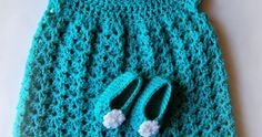 Free crochet patterns for baby hat, booties and dress set newborn - 3 months. Create beautiful wearable pieces for baby. Beginner friendly patterns to help you create beautiful crochet projects.