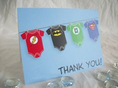 Super Hero Justice League Baby Shower by SugarTreePress on Etsy, $6.00