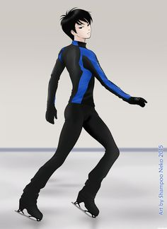 ♥ Welcome to new season, Yuzu!! ♥  Art by Shampoo Neko 2015 ♥   I want to dedicate this fanart to all my followers on Facebook, tumblr, twitter and Pinterest… thank you so much, you are lovely!!  ♥ ♥ ♥ ♥ #羽生結弦 #YuzuruHanyu