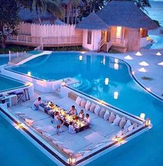When I am 18 years old, this is what my swimming pool looks like. Vacation Places, Dream Vacations, Vacation Travel, Travel Goals, Future House, Beautiful Homes, Beautiful Places, Wonderful Places, Beautiful Gifts