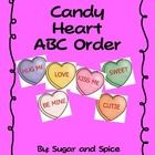 On this download you will get:-12 Candy Hearts with words on cards and a writing sheet for students to record their words on in ABC order-24 Cand...