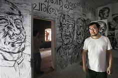 Kochi-Muziris Biennale- India's first Biennale includes contemporary art displays throughout various locations in Kochi, Kerala