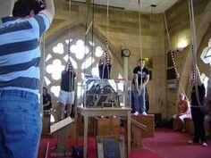York Minster Bells - Grandsire Cinques - Sunday 07.07.13 (Simon Read rin...