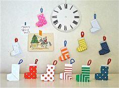おりがみ 靴下 Christmas Origami, Christmas Diy, Merry Christmas, Christmas Decorations, Holiday Decor, Diy Crafts For Kids, Arts And Crafts, Paper Crafts, Origami Design