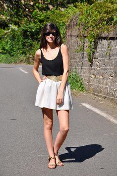 jupe blanche maje