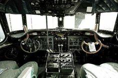 DC-4 cockpit